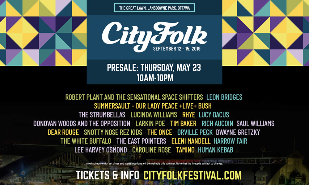 September 14: Snotty Nose Rez Kids to perform at CityFolk in Ottawa