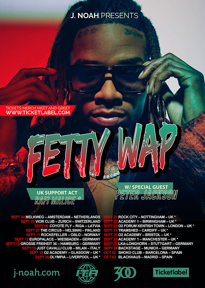 Song of the Day: Peter Jackson drops the So Lucky video; prepares for European tour with Fetty Wap