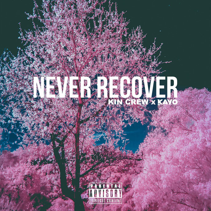 Never Recover: Kayo  featured on latest from award-winning Halifax electronic/hip-hop producer duo Kin Crew