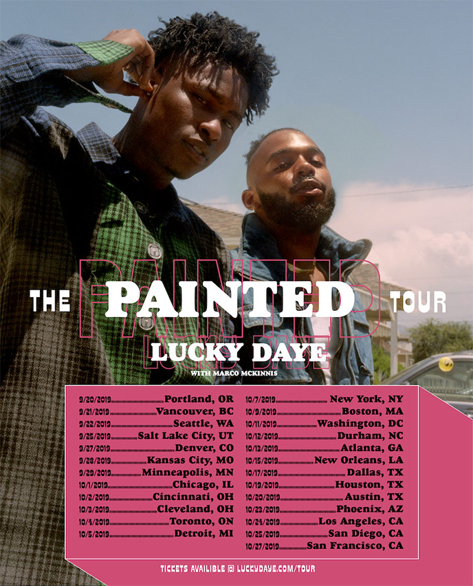 New Orleans artist Lucky Daye to bring The Painted Tour to Vancouver and Toronto