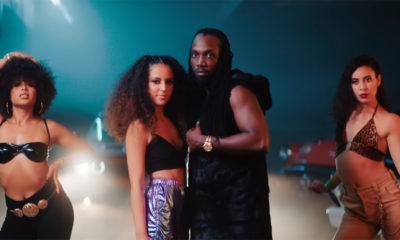MelXdie and Mavado pose together in a scene from the Girls R Better music video.