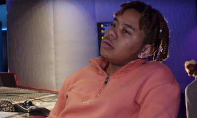 A screenshot of the new YBN Cordae video interview with Montreality.