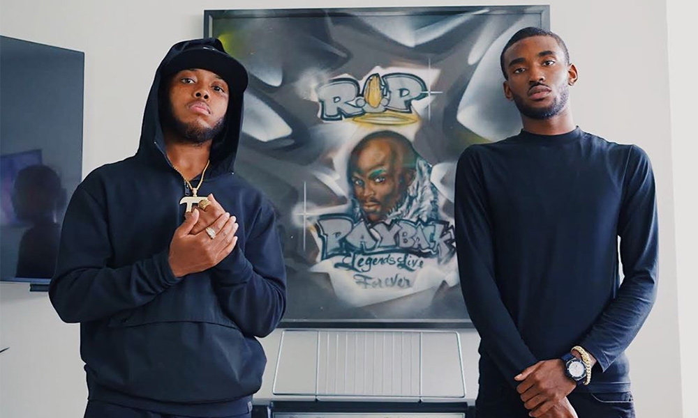Photo of Toronto rappers Pvrx and Moula 1st