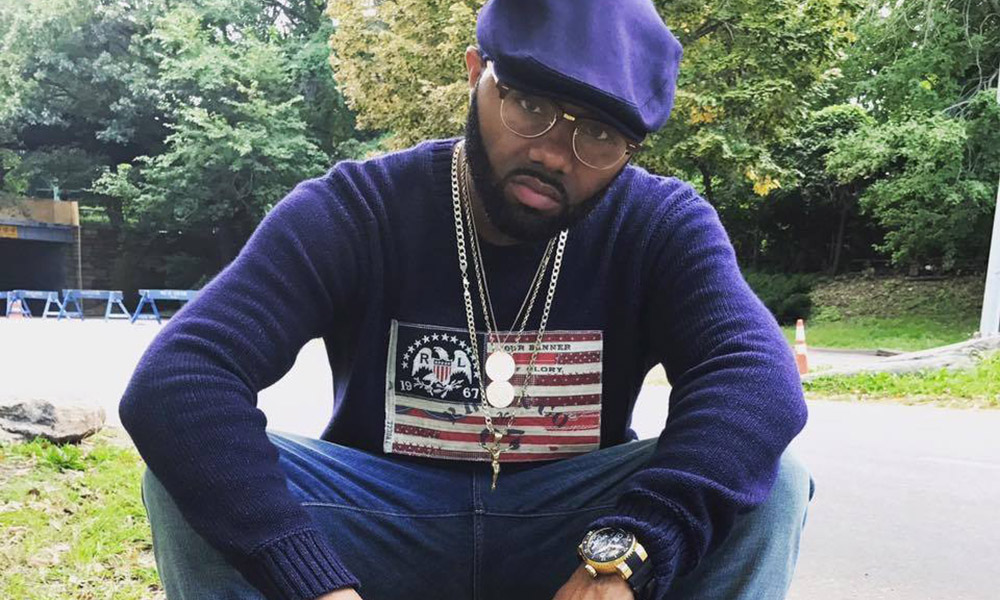 Photo of New York rapper and producer Trife Diesel.
