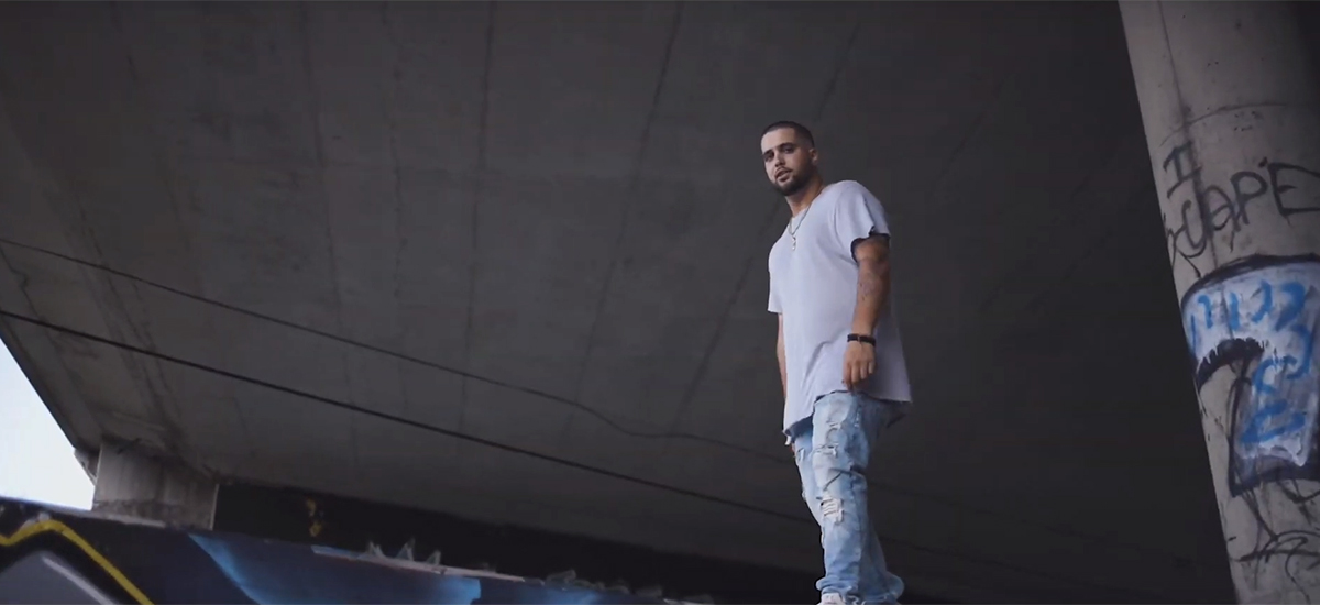 Ottawa rapper TRIP is pictured in his new video for his Yung Artist single