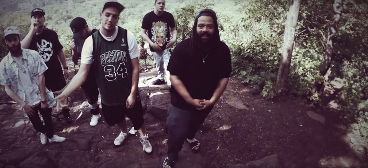 Montreal group Triple-R enlist Doom Squad and Je$$y B for Organic Plants video