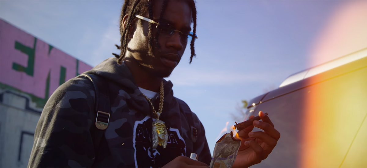 Houdini releases the Aint Gon Cap video
