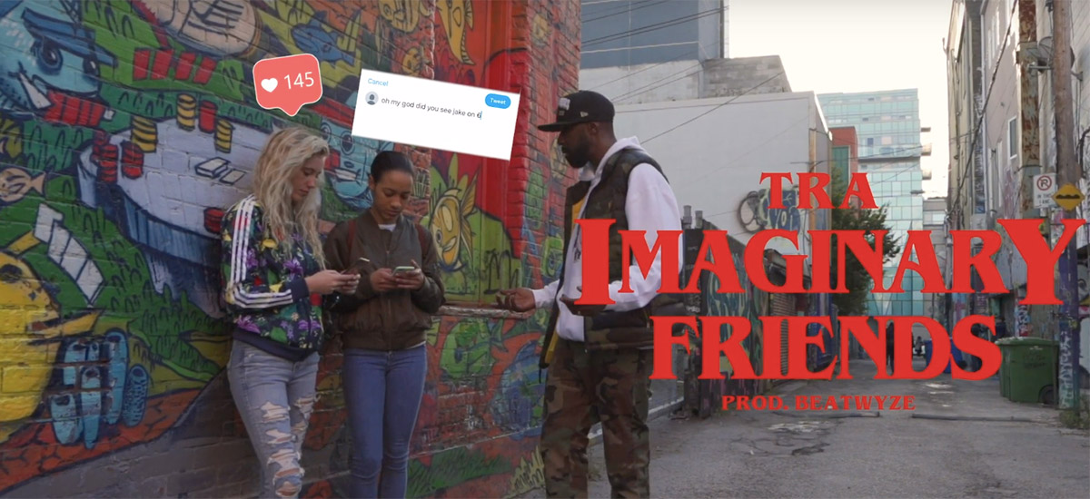 TRA speaks on the dangers of social media in new BrownGuyMadeIT-directed video Imaginary Friends