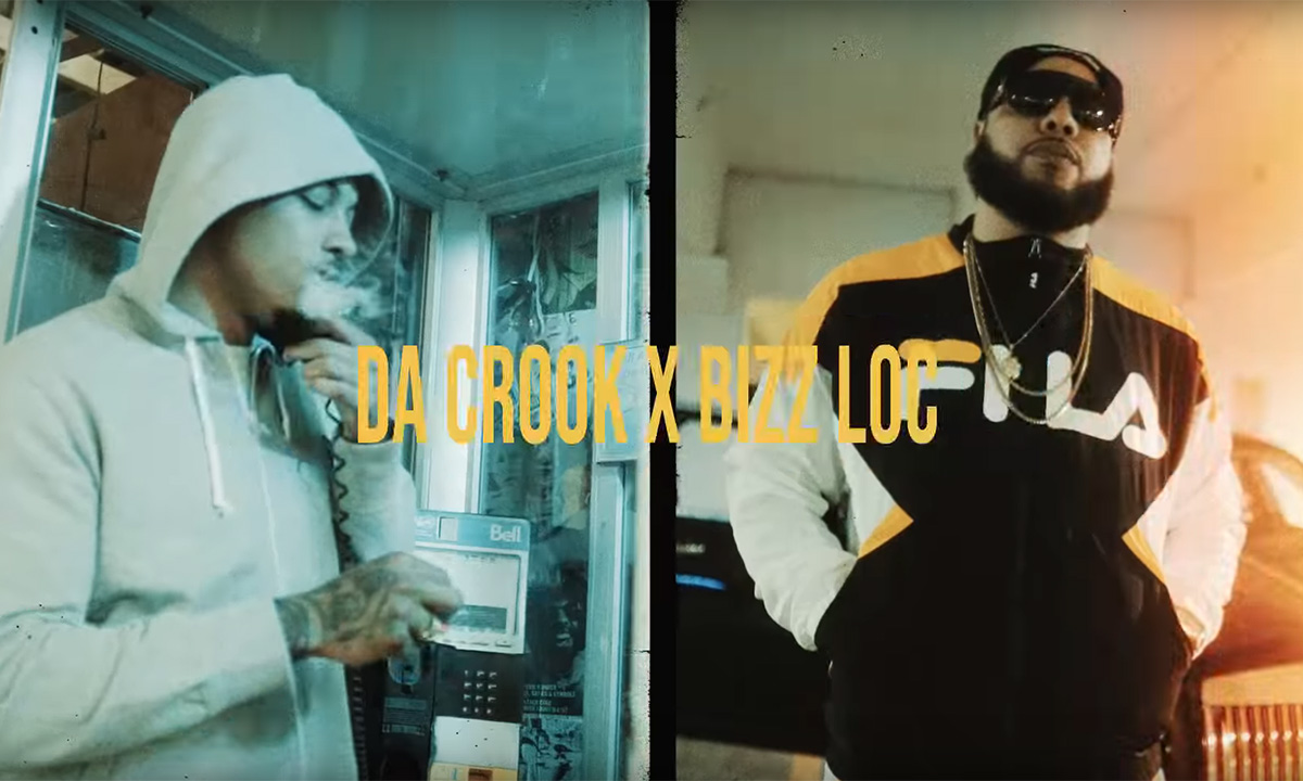 Da Crook and Bizz Loc team up for new video FeedBack