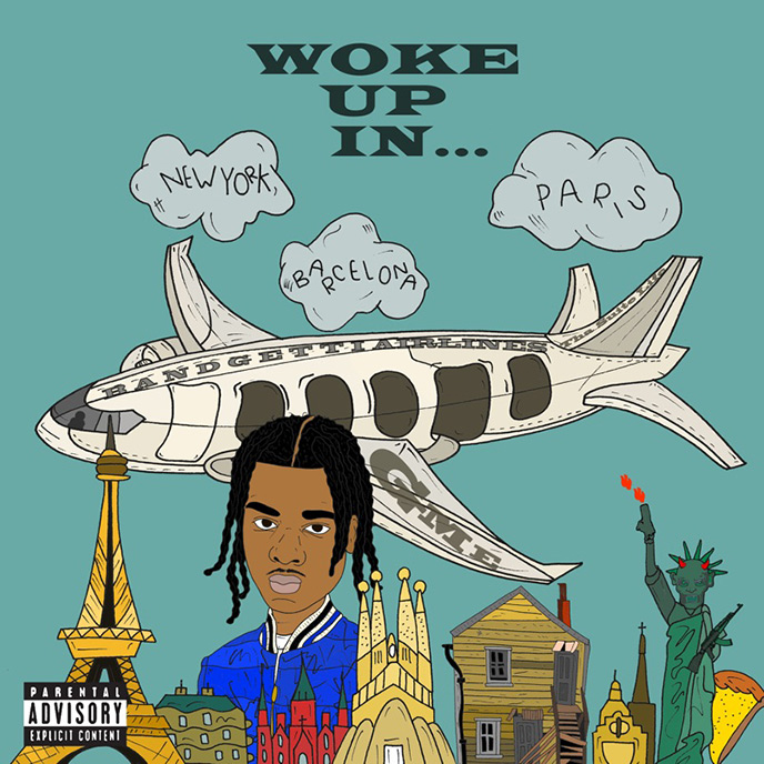 Booggz goes around the world with Woke Up In... multi-single