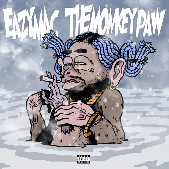 Eazy Mac releases the Perrier video in support of The Monkey Paw project