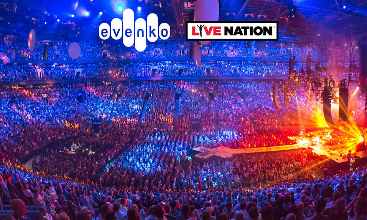 evenko and Live Nation Entertainment announce partnership