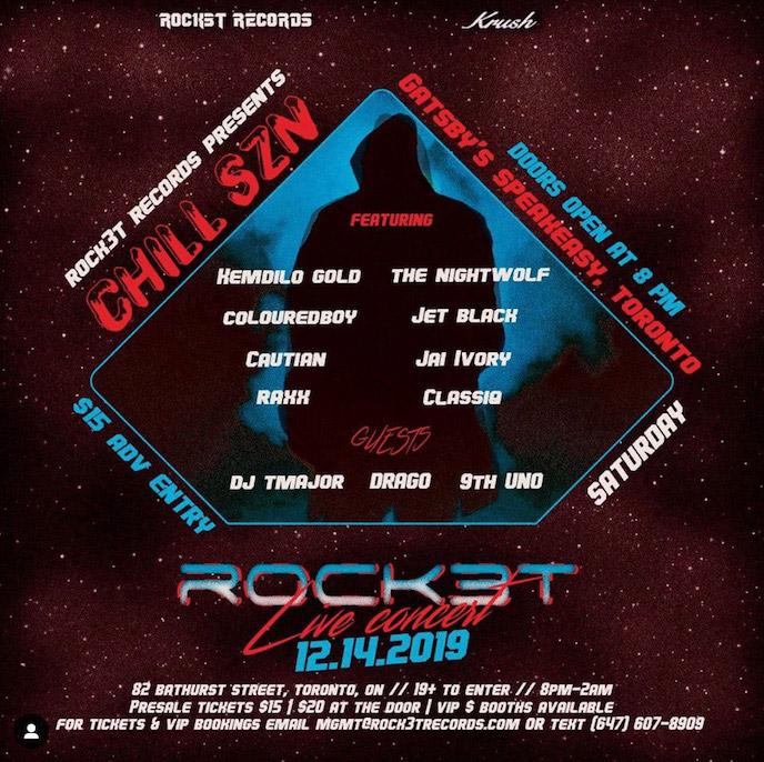 Rock3t to drop album debut Body on Dec. 16; headlining release party Dec. 14