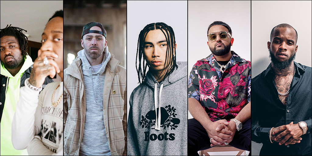 Rap Recording of the Year nominees announced for 2020 JUNO Awards