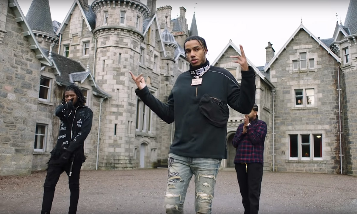 AJ Tracey releases the Zelda video featuring Toronto artist SAFE and SahBabii