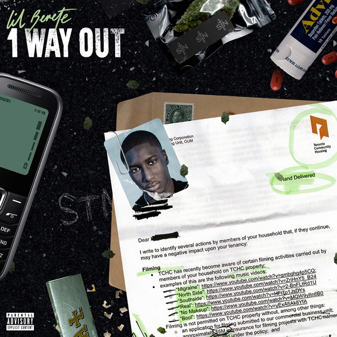 1 Way Out: Lil Berete releases sophomore mixtape