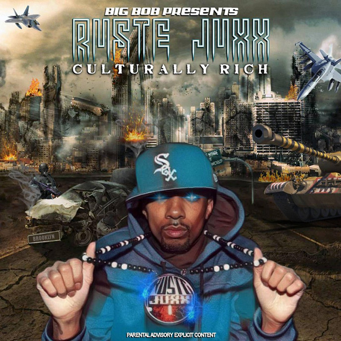 Artwork for Culturally Rich by Ruste Juxx and BigBob Pattison