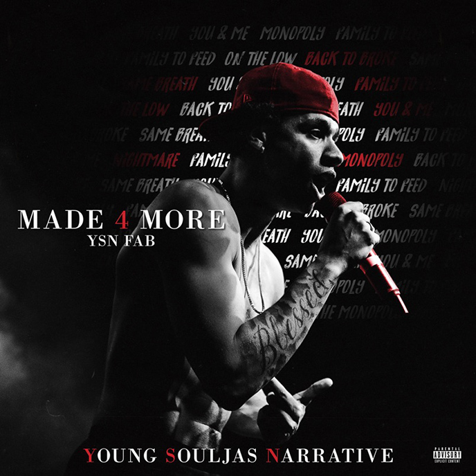 Winnipeg up-and-comer YSN Fab releases mixtape debut Made 4 More