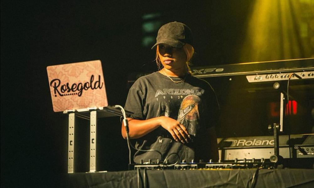 DJ Rose Gold