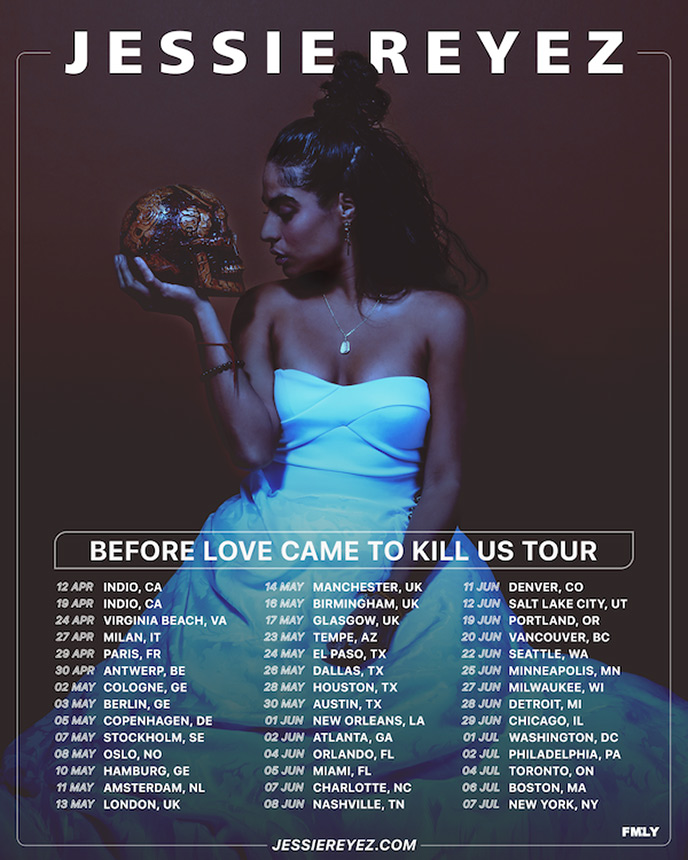 Jessie Reyez announces Before Love Came to Kill Us Tour with stops in Vancouver and Toronto