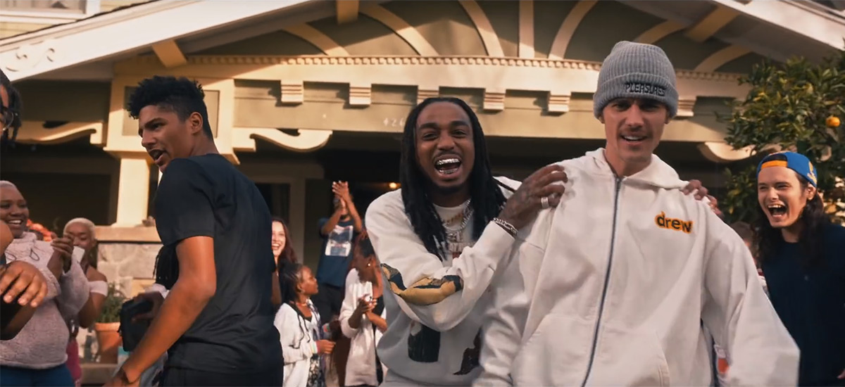 Justin Bieber enlists Quavo for new single and video Intentions