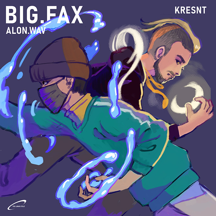 Kresnt returns with new Freestyle and Alon.Wav-assisted Big.Fax