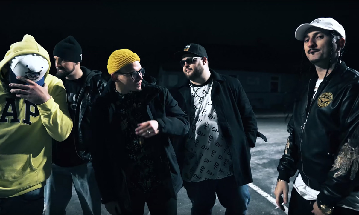 Lunch Room Poetz release video for the LRP Cypher