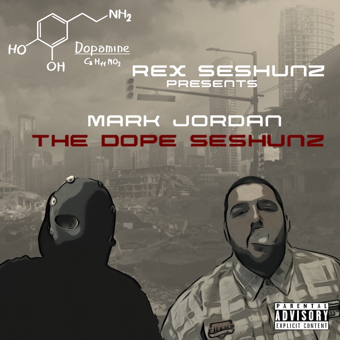 Artwork for Rex Seshunz Presents Mark Jordan: The Dope Seshunz