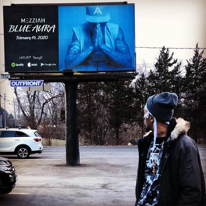 Mezziah enlists Adam Bomb, Set2, Mac Millon & more for new project Blue Aura