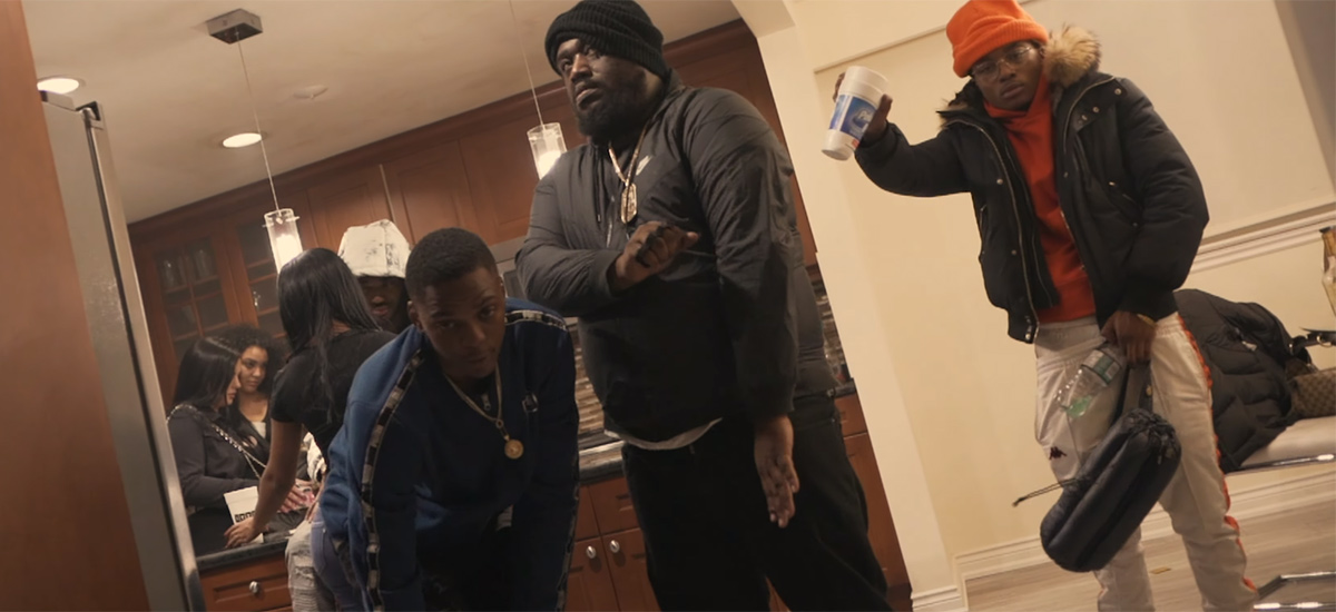 Moula 1st, Pilla B and PVRX enlist BrownGuyMadeIT for Repercussion video