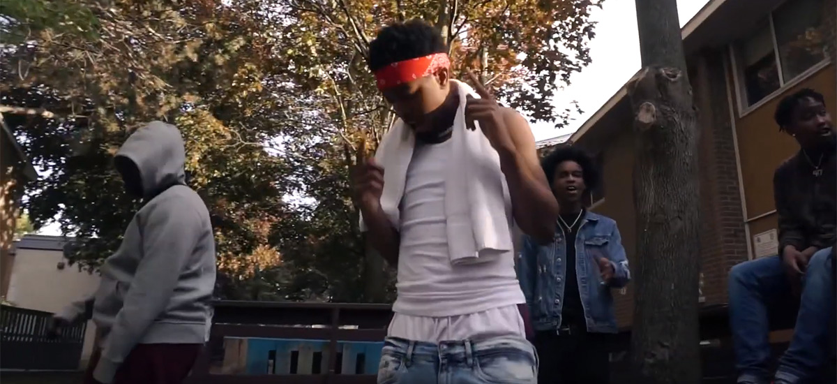 OJ Montana of FTG gets the hood Hot in new visual