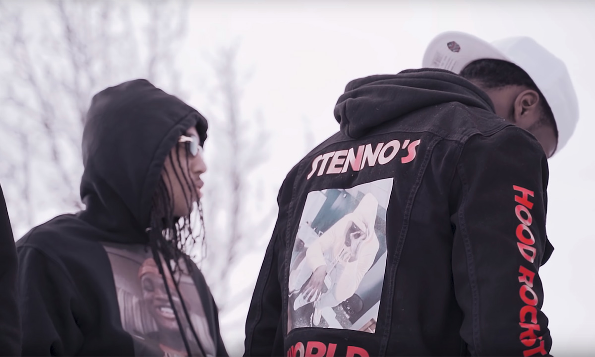 Budding artist Tizzy Stackz pays homage to Stenno with Rainstorm video