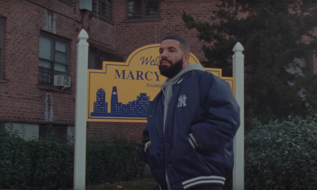 Drake in the When To Say When / Chicago Freestyle video