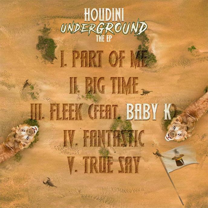 Toronto rapper Houdini releases the new underGROUND EP