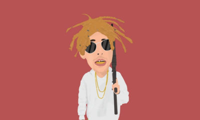 A cartoon drawing of Lil Windex