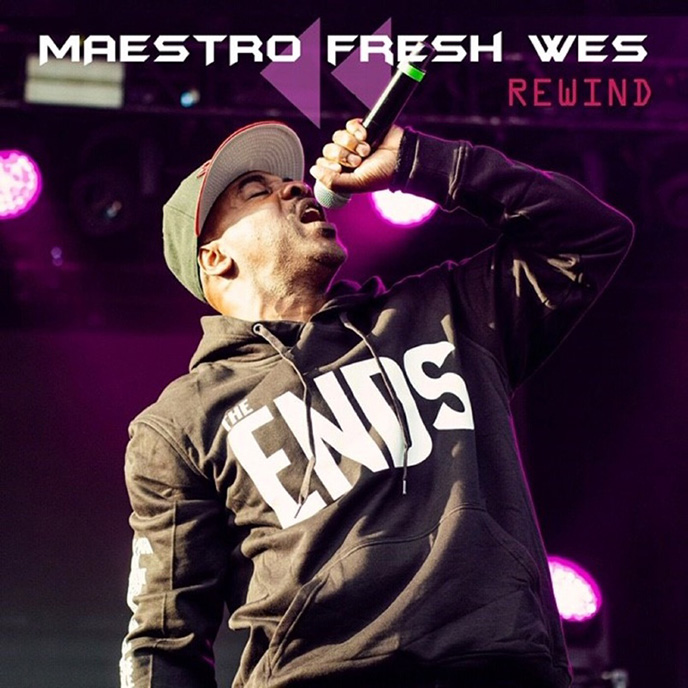 Maestro Fresh Wes celebrates birthday with 2 new singles Rewind and Dusty Wallace-assisted Fast Forward