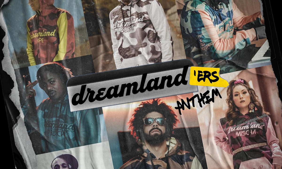 Artwork for Dreamlanders Anthem single by Quest and various artists