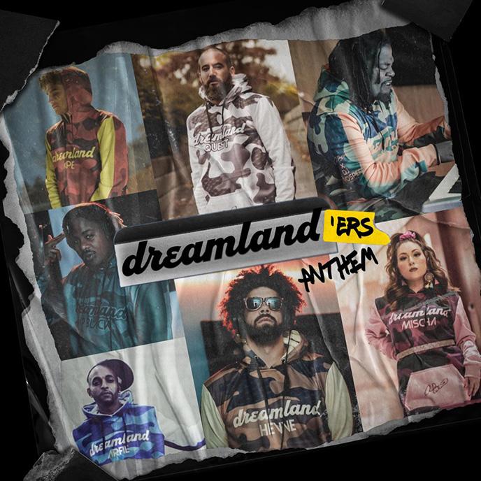 Quest enlists DJ Prosper, Capé, Hevve, Mischa, Dip Black, Arfie Lalani and KB the Boss for Dreamlanders Anthem