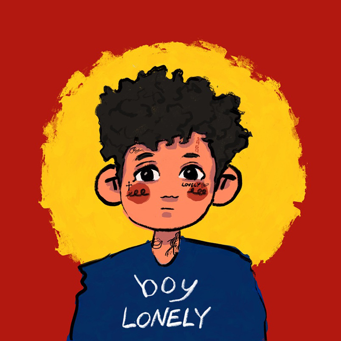 RUSSELL! (formerly D-Pryde) releases the 10-track boy lonely album