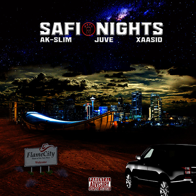 AK-Slim, Juve and Xaasid of SAFIGXNG release Safi Nights album