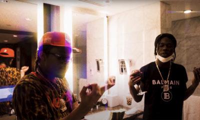 Burna Bandz and SupaWassi in The Villain video
