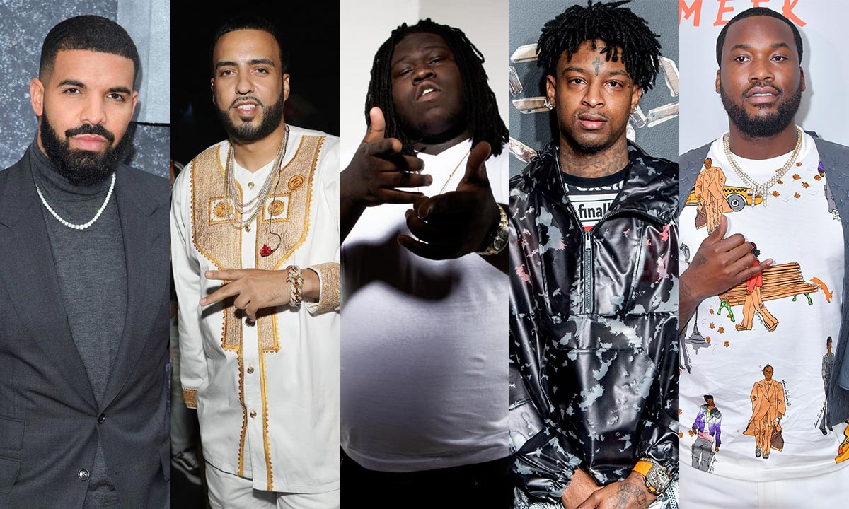 Drake, French Montana, Young Chop, 21 Savage and Meek Mill