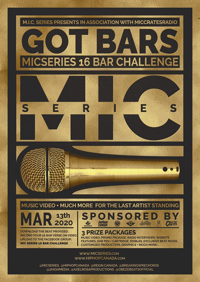 Mic Series presents Got Bars: Mic Series 16 Bar Challenge
