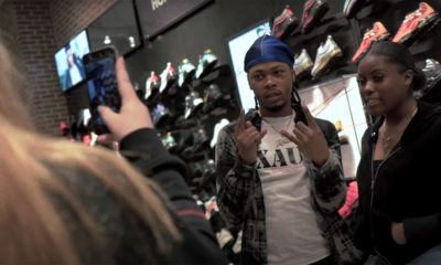 Yung Tory in the Double Ds video