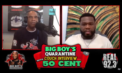 Big Boy and 50 Cent on the Quarantine Couch