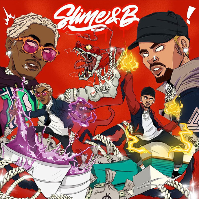 Slime and B: Murda Beatz, T-Minus and Joseph Letranger produce on new Chris Brown and Young Thug mixtape