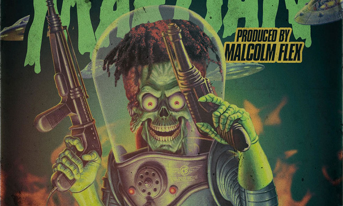 Chicago rapper FBG Young enlists producer Malcolm Flex for the Martian EP