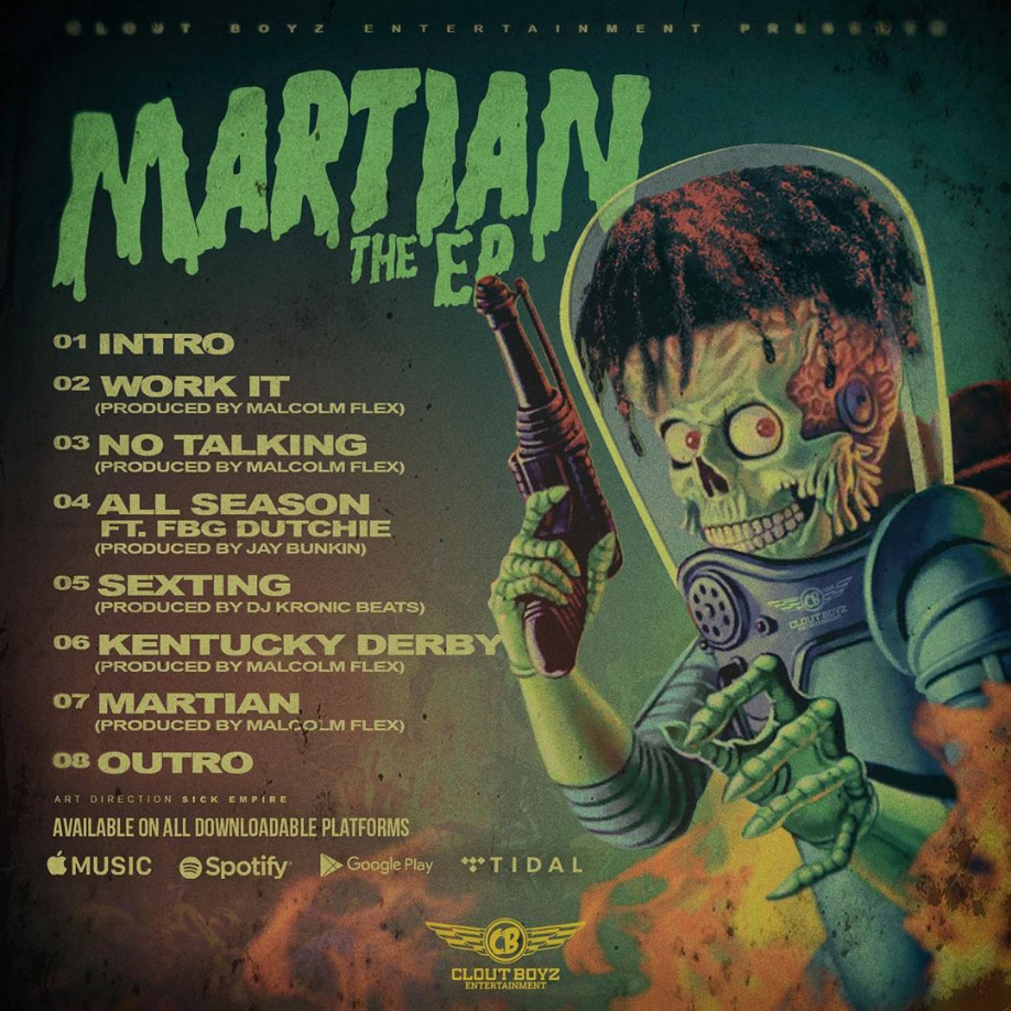 Chicago rapper FBG Young releases the Martian EP