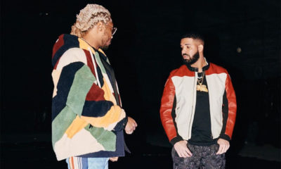 Future with Drake, who appears twice on the new album High Off Life