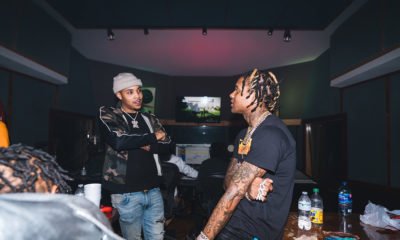 G Herbo in the studio with Lil Durk